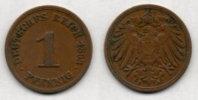 GERMANY EMPIRE 1 Pfennig 1893 ?. # 569. - 1 Pfennig