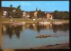 CPM Animée Allemagne BODENWERDER /Weser Bâteaux Touristiques   Aviron - Bodenwerder
