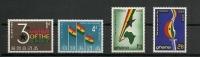 1963 Ghana Complete Set 3 Years Republic Mint Never Hinged,postfris,neuf Sans Charniere - Ghana (1957-...)