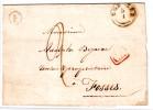 Lettre St. T18 EGHEZEE + Boîte F Pour T18 FOSSES - Belgium