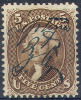 # United States   76, Used,  SCV$ 150.00  (us076-10 - Used Stamps