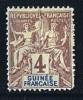 Faux De Fournier Groupe 4  Cent  * MH - Unused Stamps