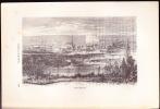 Moresnet 1875 VIEILLE-MONTAGNE MINES ET FONDERIE DE ZINC - Gravure Extraite Du Livre GRANDES USINES - 1801-1900