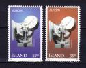 ICELAND 1995  EUROPA   Arts , Y&T #  777 / 78   ,  Cv  3,75 E , ** M N H , V V F - Non Classificati
