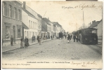 Wijnegem - Wijneghem Aankomst Van Den Tram - Verstuurd 1904 - Wijnegem