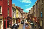WEXFORD- STEET In WEXFORD TOWN -  Cpsm écrite 1987 Avec Timbre-   PAYPAL FREE - Wexford
