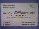 BUVARD - MAISON CAOUTCHOUC/ ETS COLLAS Et CIE Fournitures Agricoles Et Battages  8 Rue Noël-Ballay - CHARTRES (magasin) - Agriculture