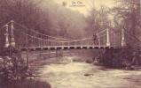 SAINT E ODE = Le Pont Suspendu - Carte Animée (Nels) écrite - Sainte-Ode