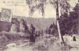 SAINT E ODE = La Vallée - Promenade Le Long De La Rivière - Carte Animée (Nels) 190? - Sainte-Ode