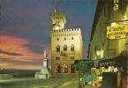 REPUBLICA DI SAN MARINO.  Notturno Palazzo Del  Governo. - San Marino