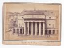 [WIN636] ITALY GENOVA Liguria Original CABINET PHOTO 15x10 Cm DECOIX Ca1880 Foto - Teatro Theatre Dux Carlo Felice - Genova (Genua)