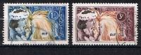 POLYNESIE 1964 DANSEUSES TAHITIENNES 27 28 - Frans-Polynesië