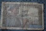 FRANCE  BILLET DE BANQUE BANK  BANCA > 10 FRANCS >> MINEUR  DE 1943 - 1871-1952 Circulated During XXth