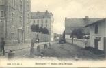 BASTOGNE. Route De Clervaux.  Edit: G.H N°: 1472. Postée En 1909 - Bastenaken