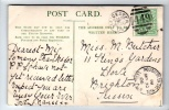 Postmark - Leicester Duplex Date Stamp - 1905 - On Postcard - 1902-1951 (Kings)