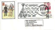 USA. Centenaire Du Territoire Indien De Proctor  (Oklahoma)   , Enveloppe Souvenir 2003 - American Indians
