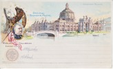 U.S. COLUMBIAN EXPO CARD  * - 1893 – Chicago (United States)