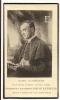Doodsprentje Pastoor Alfons Dewachter - Puurs Mechelen 1855 - 1932 - Santini