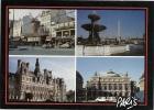 Paris - Carte Multivues Ref 1107-028/29 - France