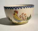 CHAROLLES - Bol  Au Coq - Hanenkommetje   - Bowl Rooster - CO047 - Charolles (FRA)