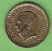 LOT N° 7139 * MONACO*LOUIS II*PIECE DE 1 FRANC *SANS DATE (1943)*SUP * - Monaco