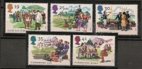 UK - 1994 THE FOUR SEASONS - SG 1834/8 - Yvert  1774/8 -  MINT NH - Sin Clasificación