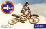 TARJETA DE VENEZUELA DE UNA MOTO  (MOTORBIKE-MOTOCROS)  UNICA - Motos