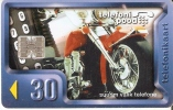 TARJETA DE ESTONIA DE UNA MOTO  (MOTORBIKE) - Motos