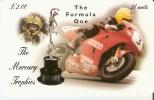 TARJETA DE LA ISLA DE MAN DE UNA MOTO (MOTORBIKE) - Motos