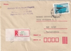 Hungary 1978 Registered Cover With AIR MAIL  AIRMAIL Stamp - Hungary