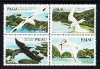 Palau Scott #C4a MNH Block Of 4 40c Birds - Palau