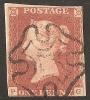 Grande-Bretagne (GB) Victoria 1841 - Penny Rouge Planche 42 PG Avec MX - 1840-1901 (Viktoria)