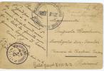 Belgium 1919  Brugge  -> Montignies-sur-Sambre - Guerra '14-'18