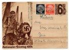 2 LETTRES 1936/1934 .ALLEMANDE AVEC TIMBRES .VOIR SCAN ET DETAIL - 1939-45
