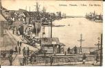 Let036/ Libau, Dt. Feldpost 1916 Auf AK Vom Hafen. - Lettland