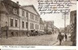 Let044/ Mitau, Dt. Feldpost Auf AK Von Der Poststr. Mit Gymnasium - Lettland