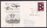 Argentina FDC Cover 1962 Sobre Primer Dia De La Aviacion Militar ESPERANTO LINGVO INTERNACIA (2 Scans) - FDC