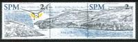 2002 Saint Pierre Et Miquelon Paesaggi Landscapes Yvert 785/86 MNH** P 75- - Géographie