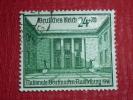 """DEUTSCHES REICH - 1940 """" HOF DER NEUEN REICHSKANZLEI """" MI 743 ʘ - KW/VC  22,00€  - FEHL) - Oblitérés"""