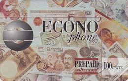 TC Prépayée Canada - MONNAIE - Billet De Banque France Germany Italy Spain England  Banknote Prepaid Phonecard - Coin 60 - Timbres & Monnaies