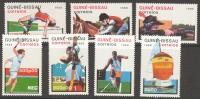 Guinea-Bissau Olympic Games Seoul 1988 Set Of 7 MNH - Summer 1988: Seoul