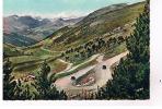 VALLS D´ ANDORRA - Vue Générale De La Vallée D'Envalira Avec Les Lacets De La Route Et Le Refuge - Andorre