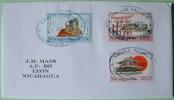 Nicaragua 2011 Cover Managua To Leon - Philanippon 91 - Warrior Temple Door Palace Sun - Nicaragua