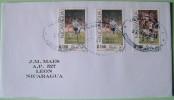 Nicaragua 2011 Cover Managua To Leon - Football Soccer Italia 90 Germany Argentina - Nicaragua