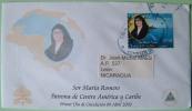 Nicaragua 2011 Cover Managua To Leon - Sister Maria Romero - Religion Map - Nicaragua