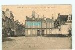 Br - 28 - DREUX - La Place Rotrou Et L'entrée De La Rue D'Orleans - éditeur E F - N° 3 - Dreux