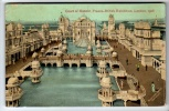 Franco-British Exhibition - Court Of Honour - Postcard 1908 - Exhibitions