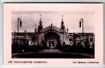 Franco-British Exhibition - The Railway Exhibition - Real Photo Postcard 1908 - Exhibitions