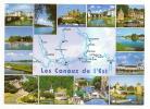Les Canaux De L'Est. Multivues. Marne-Rhin, Rhône-Rhin, Houillères De La Sarre, Moselle-Rhin. - Lorraine