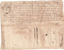 ACTE DE VENTE  1744 - Documents Historiques